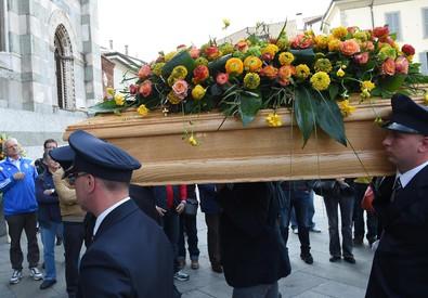 Spari tribunale: funerali di Giorgio Erba (ANSA)