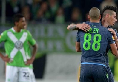 VfL Wolfsburg - SSC Napoli (ANSA)
