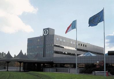 Una veduta esterna della sede centrale della Indesit Company (ANSA)