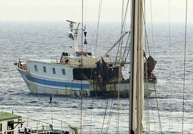 Un peschereccio (ANSA)