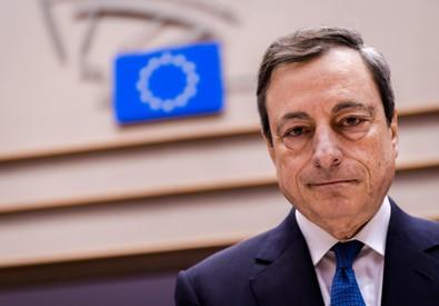 Mario Draghi, Governatore della Bce (ANSA)