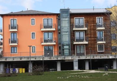 L'Aquila, le new town con i sigilli (ANSA)