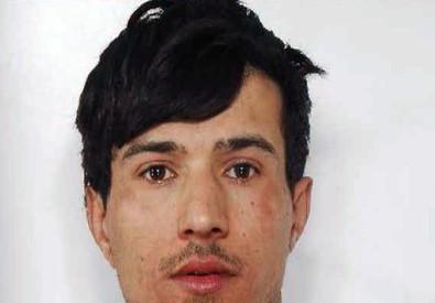 Louati Noussair, un tunisino di 27 anni, residente a Ravenna e senza fissa dimora fermato dalla Digos (ANSA)