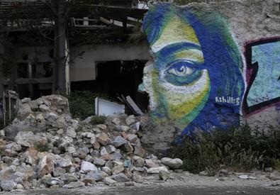 Una via di Atene (ANSA)