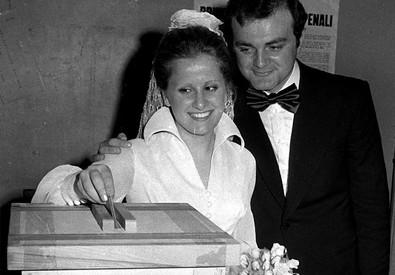 1974 - referendum sul divorzio, italiani dicono si' (ANSA)