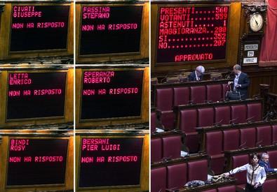 Italicum, la Camera conferma la fiducia al governo (ANSA)