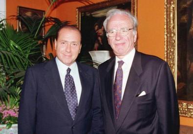 Berlusconi-Murdoch (archivio) (ANSA)