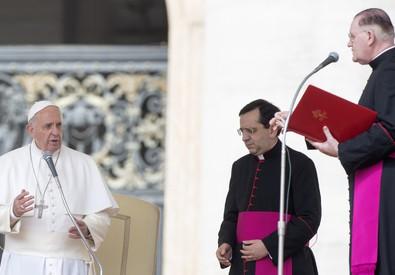 Papa Francesco, Udienza generale (ANSA)