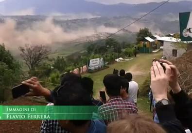 Sisma Nepal: le immagini amatoriali della scossa (ANSA)