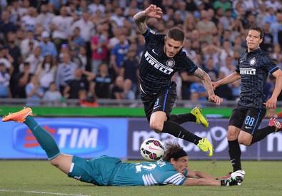 Lazio - Inter (ANSA)