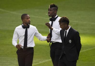 La Juventus in visita al Bernabeu in vista del ritorno semifinale Champions (ANSA)