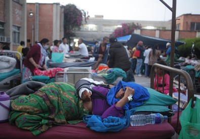Terremoti: scossa magnitudo 7.1 in Nepal (ANSA)