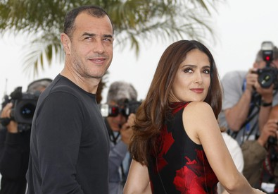 Matteo Garrone e Salma Hayek (ANSA)