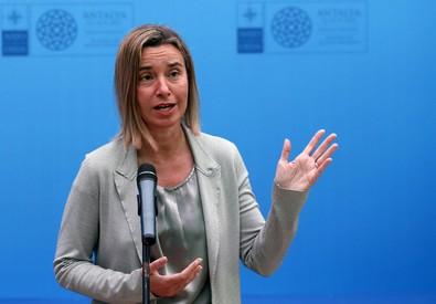 Federica Mogherini (ANSA)