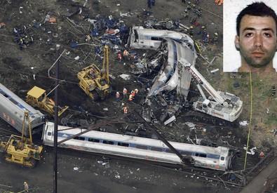 La foto di Giuseppe Piras morto sul treno deragliato concessa da La Nuova Sardegna (ANSA)