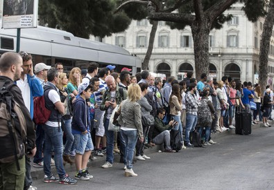 A Roma sciopero, venerdi' nero dei trasporti (ANSA)
