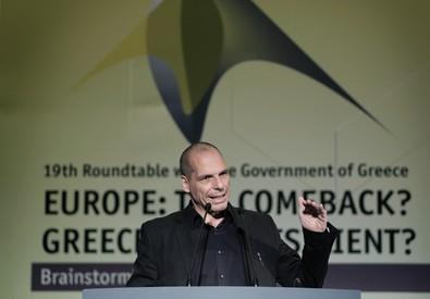 Yanis Varoufakis (ANSA)