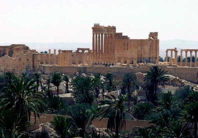 Ancient oasis city of Palmyra (ANSA)