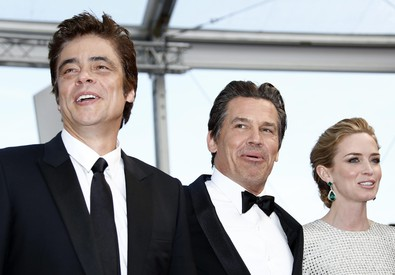 Benicio Del Toro, Josh Brolin e Emily Blunt (ANSA)