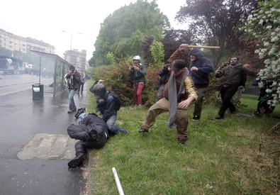 Expo: uomo arrestato, pesto' agente durante disordini (ANSA)