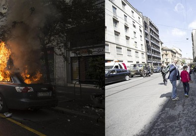 Expo: i luoghi devastati, ieri e oggi (ANSA)