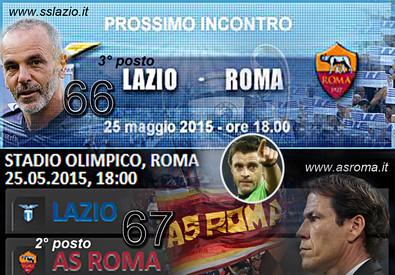 Lazio-Roma (ANSA)