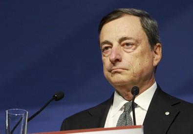 Il presidente della Bce Mario Draghi in una foto di archivio (ANSA)