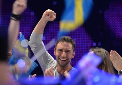 Il cantante svedese Mans Zelmerlow (ANSA)
