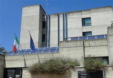 Il tribunale di Lodi (ANSA)