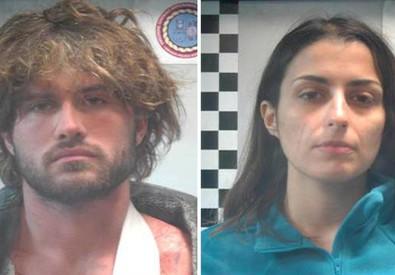 Nella foto distribuita dalla Polizia di Stato, Alexander Boettcher e Martina Levato (ANSA)