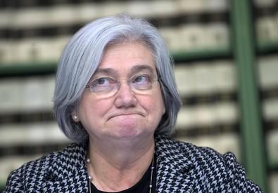 Rosy Bindi in una foto d'archivio, presidente della Commissione Antimafia (ANSA)