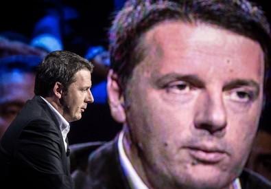 Matteo Renzi a Ballaro' (ANSA)