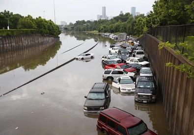 Storica inondazione in Texas (ANSA)