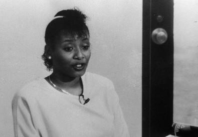 Paula Cooper fotografata nel carcere di Indianapolis il 25 agosto 1988 (ANSA)