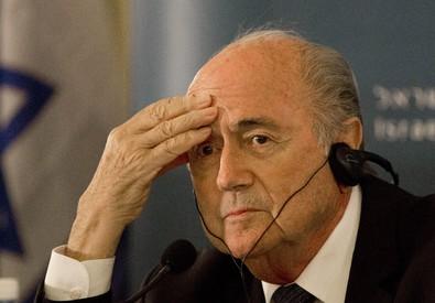 Il presidente Fifa, Joseph Blatter (ANSA)