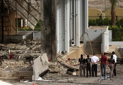 Le autobombe a Baghdad (ANSA)