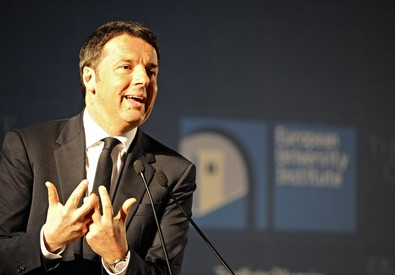 Matteo Renzi parla a 'State of the Union' (ANSA)