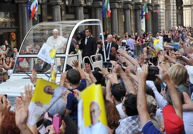 Il Papa a Torino (ANSA)