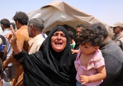 Isis usa la sete come arma in Iraq, chiusa la diga sull'Eufrate (ANSA)