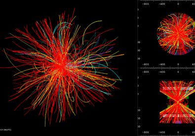 Collisioni record al Cern (fonte: © 2015 CERN) (ANSA)
