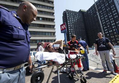 Incidente a metro B di Roma, feriti (ANSA)