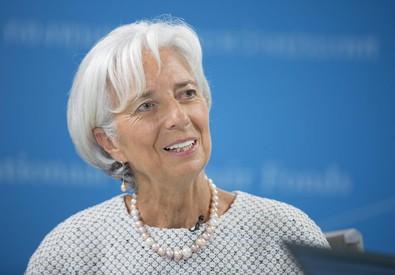 Christine Lagarde, direttore dell'Fmi (ANSA)