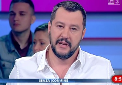 Matteo Salvini, leader della Lega Nord (ANSA)