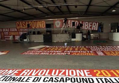 Raduno CasaPound: organizzatori, oggi alle 18 via alla festa (ANSA)