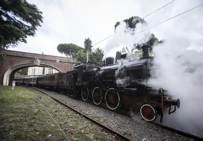 Vaticano: al via il treno delle ville pontificie (ANSA)