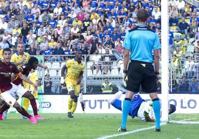 Il gol di  Iago Falque (ANSA)