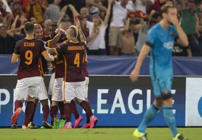 Roma Barcellona 1-1 (ANSA)