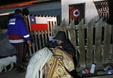 Sisma Cile: Ingv,nato da effetto 'cerniera lampo' (ANSA)