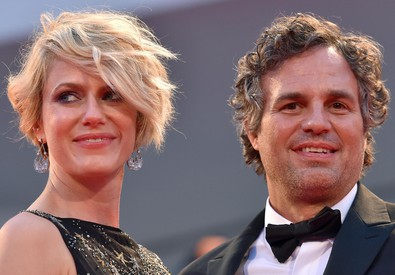 Mark Ruffalo e la moglie Sunrise Coigney (ANSA)