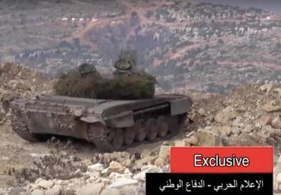 Tv Siria, in video truppe russe combattono per Assad (ANSA)